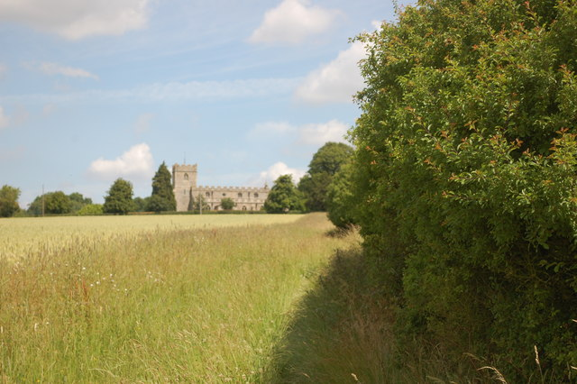 On the path to Holy Trinity, Chrishall