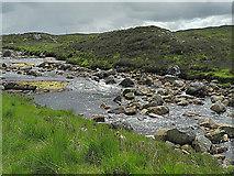 NN2655 : Looking across the River Etive by Nigel Brown