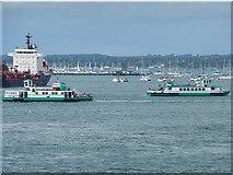 SZ6299 : Gosport ferries by Oliver Dixon