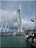 SZ6299 : Spinnaker Tower by Oliver Dixon