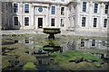 SZ5479 : Water feature, Appuldurcombe House by Philip Halling