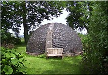 SO3656 : The Bottle Dome, Westonbury Mill by Des Blenkinsopp