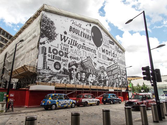 Building Renovation at King's Cross