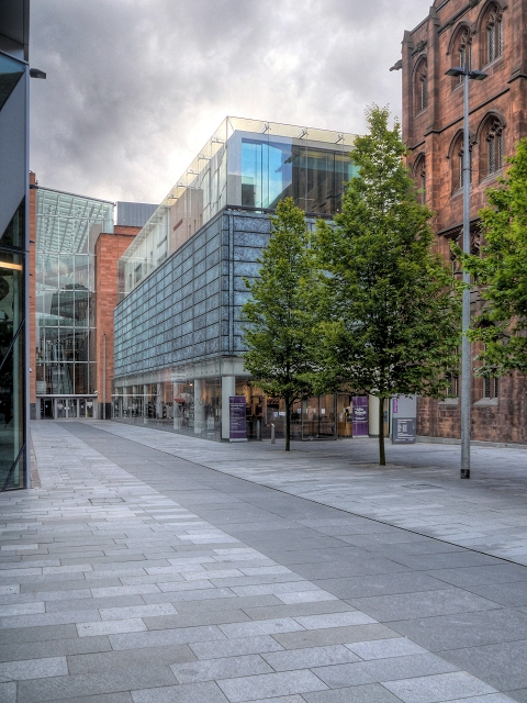 21st Century Extension to John Rylands Library