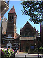 TQ2781 : St Mark's, St Marylebone, from Cabbell Street by Christopher Hilton
