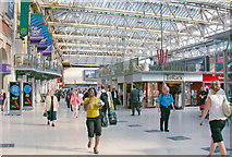 TQ3179 : Waterloo Station concourse, 2008 by Ben Brooksbank