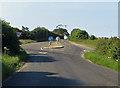 TG0339 : Crossroads on the B1156 by Pauline E