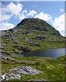 NH0441 : Lochan, by Bidein a' Choire Sheasgaich by Craig Wallace