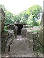 SU2885 : Blocked  entrance  into  Wayland's  Smithy  Long  Barrow by Martin Dawes