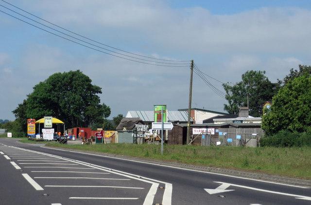 Roadside businesses, Tattersett