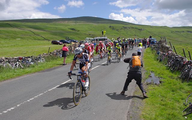Tour de France 2014 - the peloton