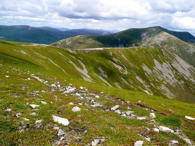 The north ridge of Carn Liath