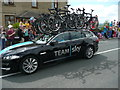 SE1019 : Tour de France at Blackley - the Sky team car by Humphrey Bolton