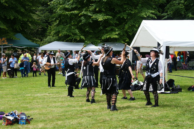 Cornish dancing at the Godolphin Fete