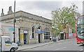 TQ2578 : West Brompton Station, entrance by Ben Brooksbank