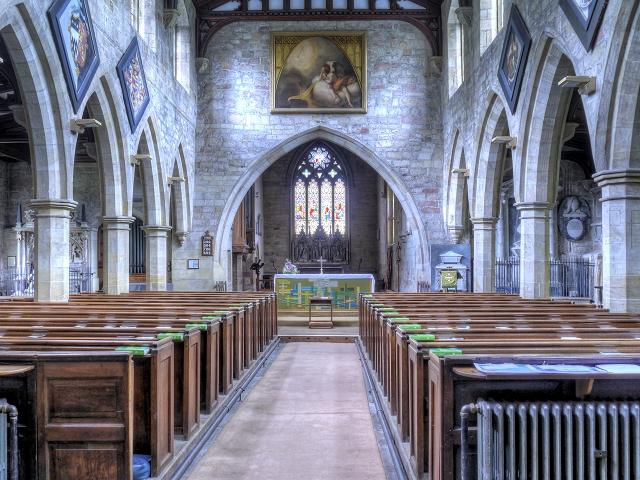 Nave, St Mary's Church, Masham