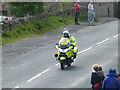SD9898 : Police outrider on Le Tour by Oliver Dixon