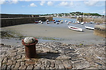 SW5130 : The harbour at St Michael's Mount by Bill Boaden