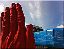SJ3490 : Caught red-handed, Liverpool by Paul Harrop