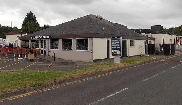 Starbucks Coffee, Gordano Services, Portbury, North Somerset