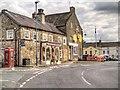 SE2280 : Masham, Shops on Church Street by David Dixon