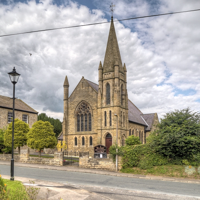 Old Wesleyan Chapel (West Tanfield © David Dixon :: Geograph