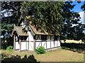 SO3555 : Moorcot Parish Hall by Des Blenkinsopp