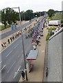 TQ3785 : Tour de France, Ruckholt Road by Julian Osley