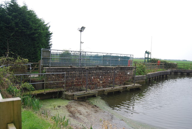 Dam by the Royal Military Canal