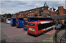 SP5006 : Oxford : Gloucester Green Bus Station by Lewis Clarke