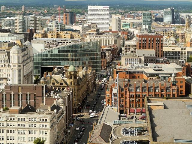 Manchester City Centre, Deansgate
