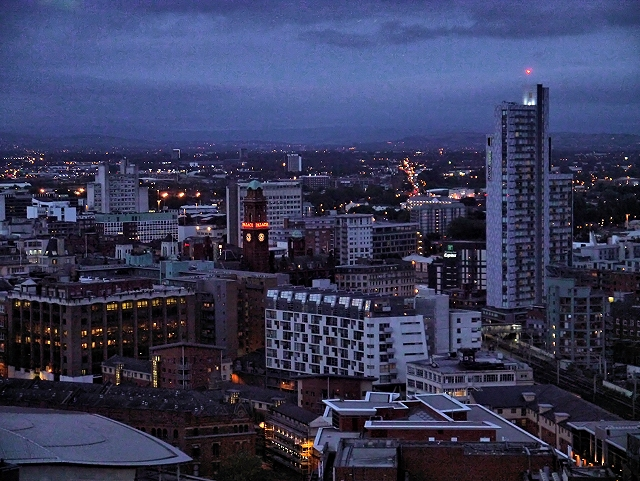 Night Cityscape, Manchester (East)