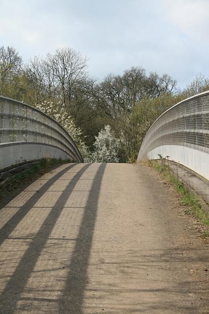Bridle bridge over M25
