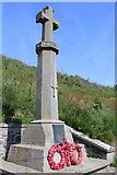 NX3343 : Port William War Memorial by Leslie Barrie