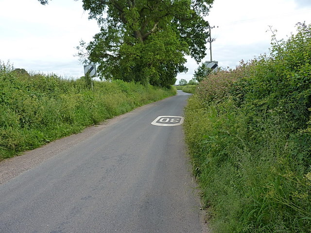 Out of the southern side of Stretton