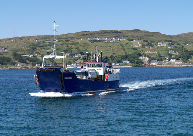 Ferry off Arranmore