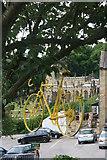 SK2692 : Hanging bike celebrating 'Le Grand Départ' by Graham Hogg
