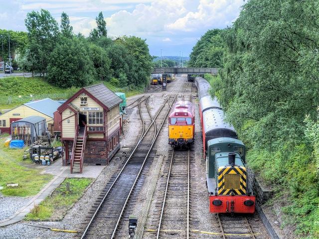 East Lancashire Railway, Bury South