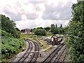 SD8010 : East Lancashire Railway, Bury South Junction by David Dixon