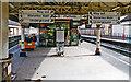 TQ3180 : Waterloo East platform view, 1997 by Ben Brooksbank