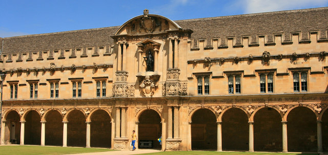 The cloister, St John's College
