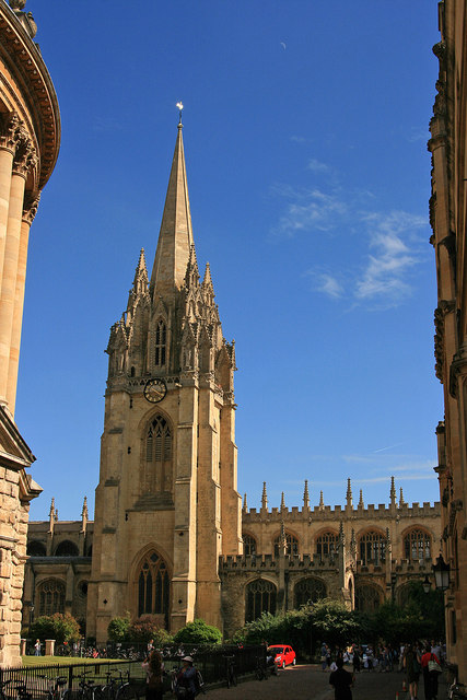 The University Church, Oxford