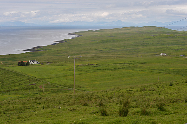 View over Totscore