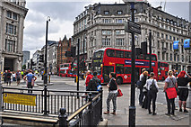 TQ2881 : London : City of Westminster - Oxford Circus by Lewis Clarke