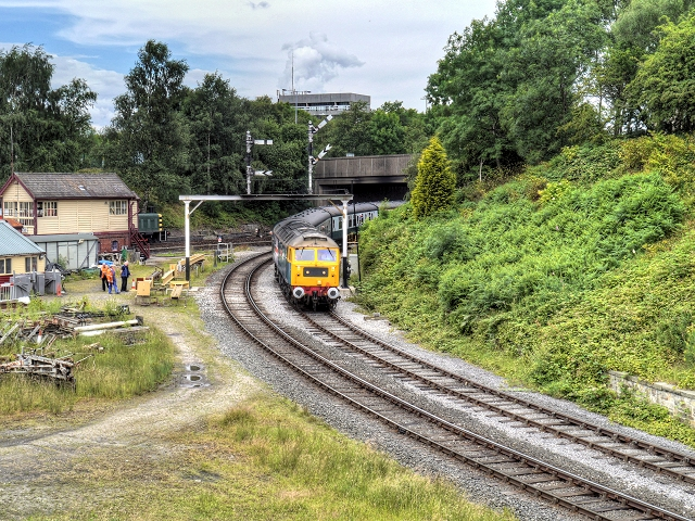 Bury South Junction, East Lancashire Railway