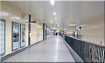 TQ3179 : Waterloo Station: main sub-surface passage by Ben Brooksbank