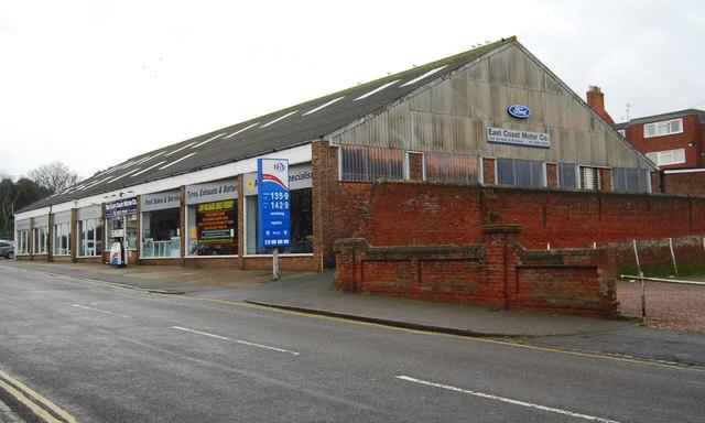 East Coast Motors >> East Coast Motors C N Chadwick Geograph Britain And Ireland