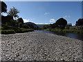 SH7961 : Afon Conwy at Llanrwst by Richard Hoare