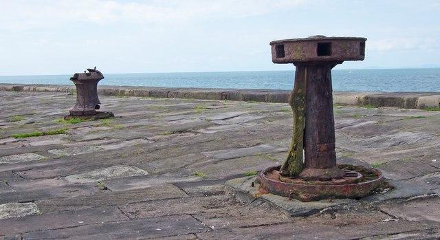 North Pier relics, Whitehaven