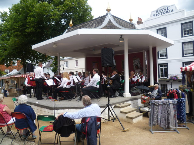 The bandstand on the Pantiles, Tunbridge Wells